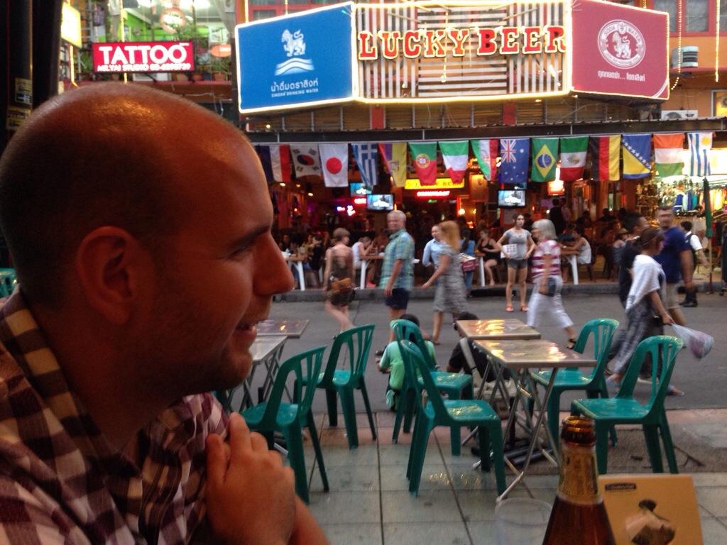 Beer on Kao San Road