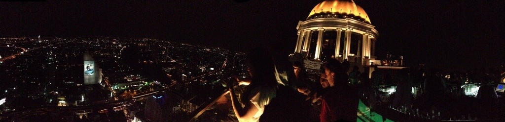 View from Sky Bar at the Lebua