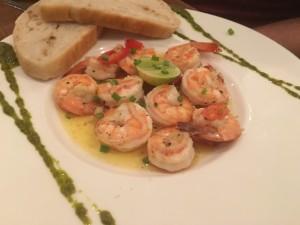 Yummy food at Barracuda, Sairee
