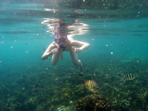Snorkelling at Tanote Bay