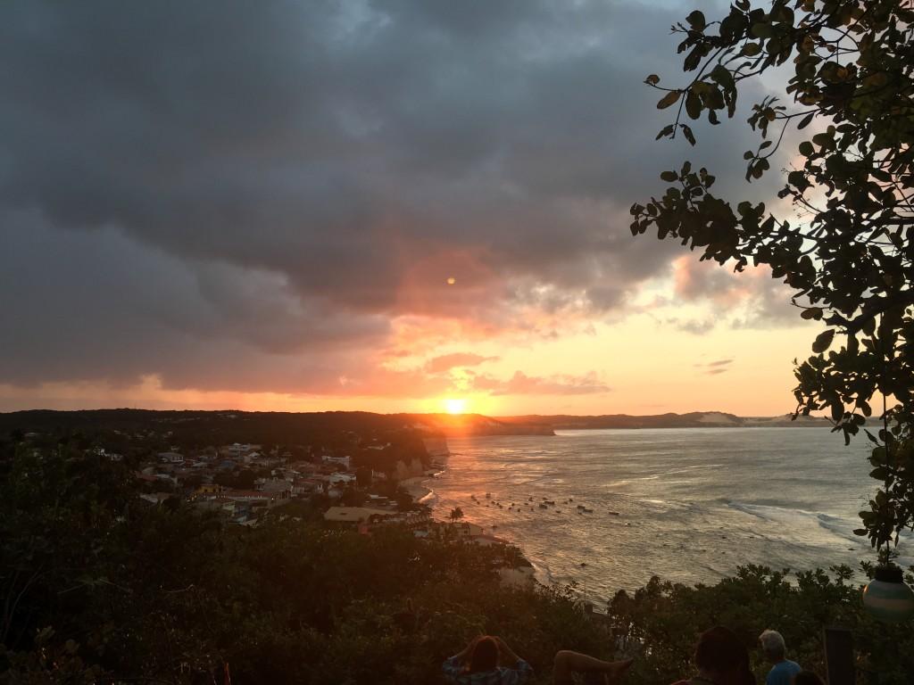 Pipa sunset
